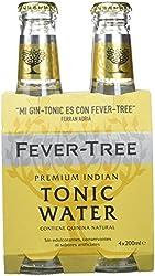 Fever Tree Tónica Premium Natural, 4 x 20cl