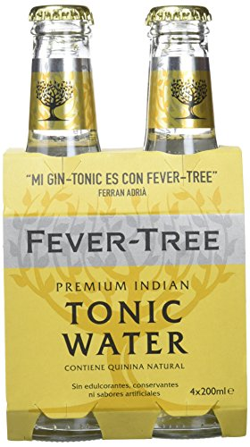 Fever Tree Tónica Premium Natural, 4 x 20cl