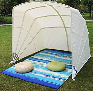 CARTMAN Collapsible Gazebo 6' x 6' UV Protected, Beach Tent