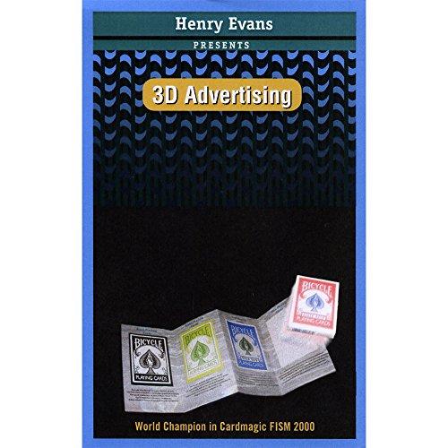 3D Advertising (Henry EVANS) - Magic Trick by Henry Evans