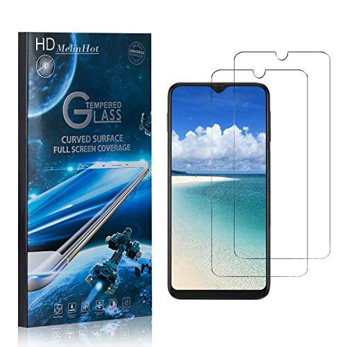 MelinHot Displayschutzfolie für Samsung Galaxy A40, 99% Transparenz Schutzfilm aus Gehärtetem Glas, 9H Härte, Keine Luftblasen, 3D Touch, 2 Stück
