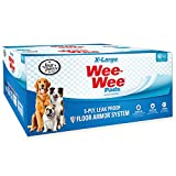 Wee-Wee Puppy Training Pee Pads 40-Count 28' x 34' X-Large Size Pads for Dogs