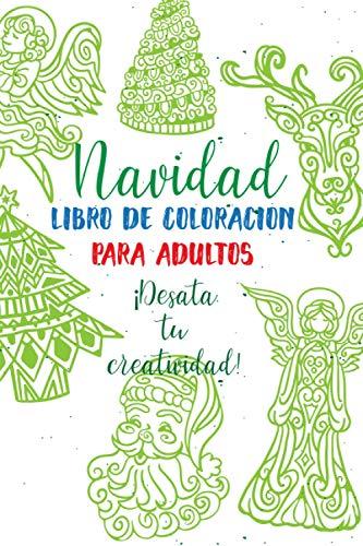 Navidad Libro De Coloracion Para Adultos: 35 páginas con mandalas e imágenes de alta calidad para colorear. Libro para colorear en Navidad para ... y compañía! Regalo de Navidad creativo para