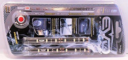 BANDE LED ULTRABRIGHT 10CM - 6500K BLANC PURE - 2PCS