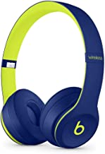 Beats by Dr. Dre - Beats Solo3 Wireless On-Ear Headphones - Beats Pop Collection - (Pop Indigo) (Renewed)