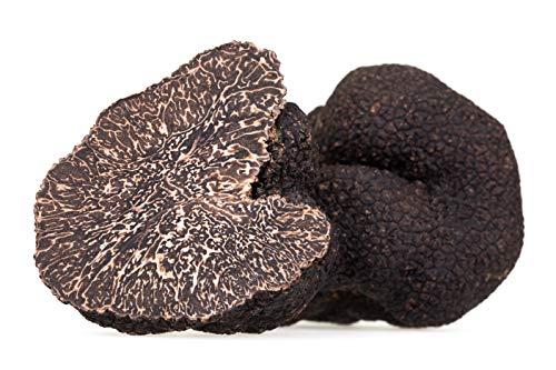 Fresh Black Truffles 2 OZ (Tuber Melanosporum)   Winter French Black Truffles and TASTE OF TRUFFLES White Truffle Butter