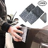 MIFU Reparador de Arañazos para Coche Eliminar los Arañazos Cuidado de la Pintura Pulir Abrillantar para Todo Tipo y Color de Coches Nanotecnología 2 PCS