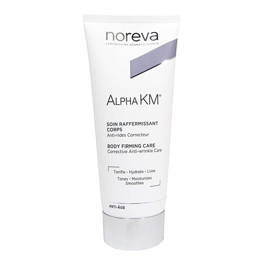 排泄する過半数攻撃Noreva Alpha Km Body Firming Anti-ageing Treatment 200ml [並行輸入品]