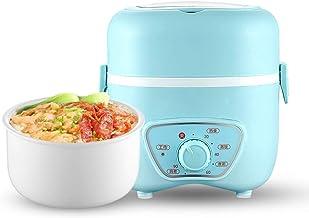 ZOUJUN Rice Cooker, Boîte électrique Déjeuner multifonction Mini Rice Cooker Chauffe-alimentation portable à vapeur mesure...