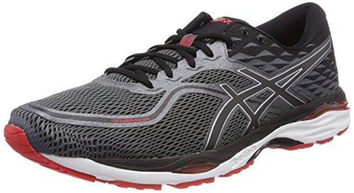 ASICS Gel-Cumulus 19, Scarpe Running Uomo, Nero (Black/Carbon/Fiery Red 9097), 40 EU