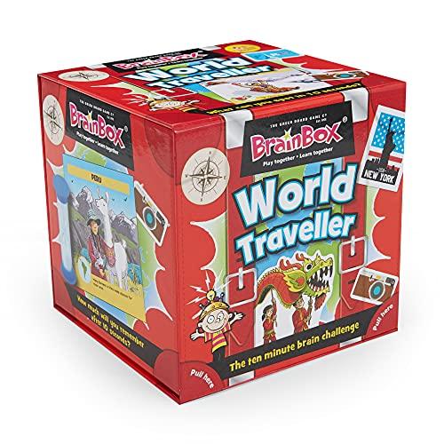 Green Board Games ブレインボックス 英語 カードゲーム 世界旅行者編 91037