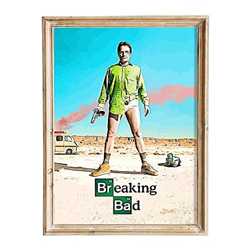 FANART369 Poster Breaking Bad # 4 formato A3 serie TV poster originale fanart arte da parete decorazione 29,7 x 42 cm senza bordi