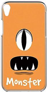 Xperia Z2 SO-03F 用 スマホケース ハードケース [モンスター・オレンジ] パロディ キャラクター SONY ソニー エクスペリア ゼットツー docomo すまほカバー 携帯ケース 携帯カバー [FFANY] monster_...