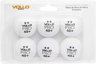 Bola de Tênis De Mesa Vollo C/ 6