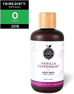 JUSU Body Vanilla Peppermint Body Wash - 100% Natural - 8.8 fl oz