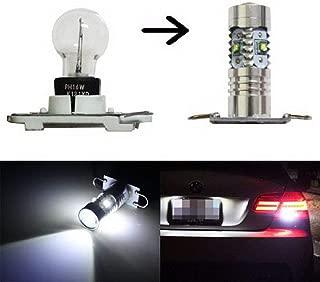 iJDMTOY PW16W PH16W LED Backup Reverse Light Bulbs for 11-13 BMW E92 328i 335i, M3 LCI & 10-up Audi A7 S7 RS7, Powered by 25W CREE LED Diodes