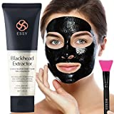Black Mask Charcoal peel off mask- Blackhead Remover Purifying Deep Cleansing Facial Black Mask,...