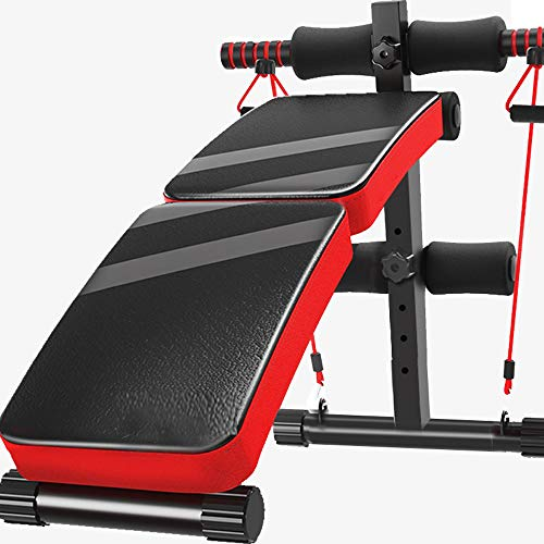 Amazing Deal longnvkeji Sit-up Board Indoor sit-ups Abdominal Muscle Board Reduce Stomach Thin Waist...