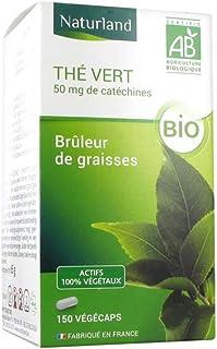Naturland Green Tea 150 Vegecaps