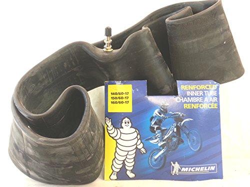 Michelin - Cámara de aire reforzada para moto, 17 x 140/80-150/60-160/60