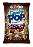 Snickers Candy Coated Popcorn, Made with Real Candy Pieces, Drizzled with Chocolate and Caramel, NON-GMO, 5.25oz