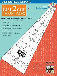fast2cut® Dresden Plate Template: Quickly Make Dresden Plates from 6 3/4