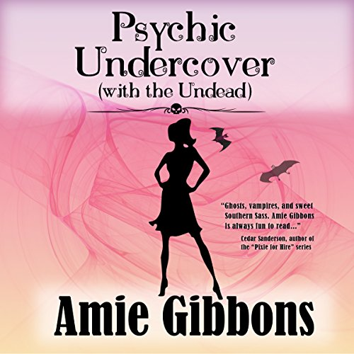 Psychic Undercover (with the Undead) audiobook cover art
