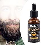 Aceite para barba, 30 ml Todo Natural Pan Crecimiento Hidrat