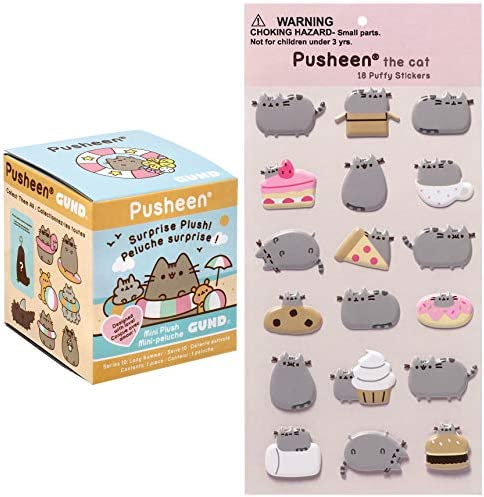 Westwood Products Pusheen Blind Box Surprise Series 10 Lazy Summer Keychain Plush with Pusheen product image