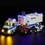 BRIKSMAX Kit de LED pour Lego City Le Poste de Commandement Mobile,Compatible avec la Maquette Lego 60139, La Maquette de Construction n'est Pas Incluse