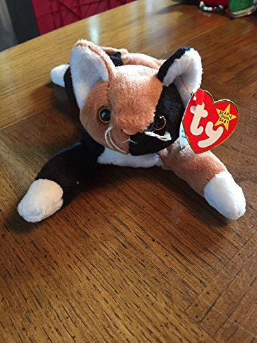 TY Beanie Babies - RARE Chip the Calico Cat - Mint PVC ,#G14E6GE4R-GE 4-TEW6W201262
