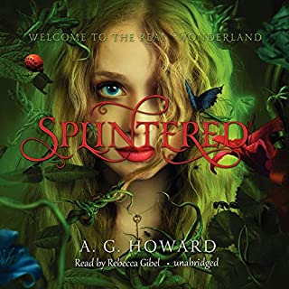 Splintered audiobook cover art