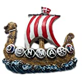 Denmark World 3D Resin Strong Fridge Magnet Collection Travel Souvenir Tourist Gift Home and Kitchen Decoration Magnetic Sticker From China (Pirate 7)