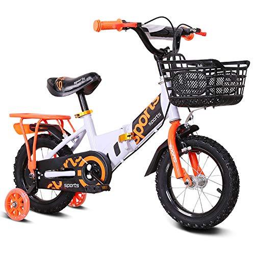 Unisex kinderfiets, jongens meisjes kinderen vouwbare fiets, 3 kleuren, 12