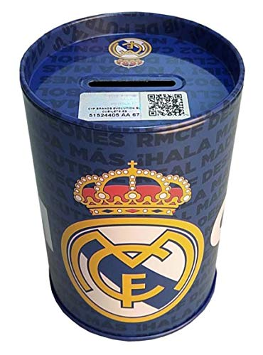 Real Madrid- Hucha Cubilete, Multicolor (PH-16-RM)