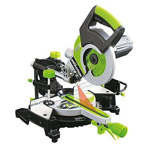 Evolution FURY3 Multi-Purpose Sliding Mitre Saw, 210 mm (230V)