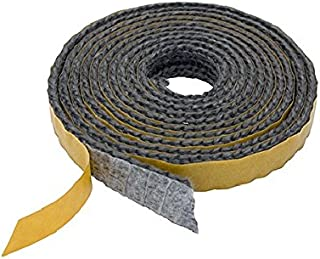 Cheminées et accessoires Best-seller étanche bande autocollant noir 20mm x 2mm Idéal pour joints des poêles-cheminées jusquà 550° sans amiante autocollant Compartiment Commerce Qualité