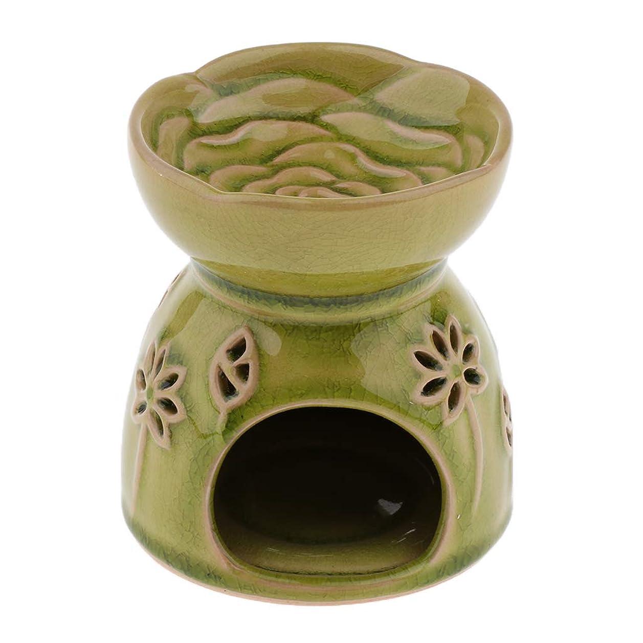 アレルギー性によって真夜中D DOLITY アロマディフューザー エッセンシャルオイルディフューザー セラミック 装飾 贈り物 全2色 - 緑