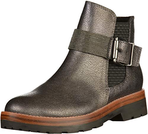MARCO TOZZI Women's Ankle Boots Black, Dimensione:40