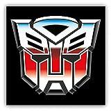 valstick Transformers Autobots Logo Car Bumper Sticker Decal