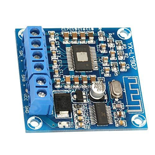2 canales DC 12-24V 50W + 50W Placa PCB de doble cara Placa de amplificador estéreo TPA3116D2 Módulo amplificador de potencia Bluetooth Componente de audio para equipo amplificador