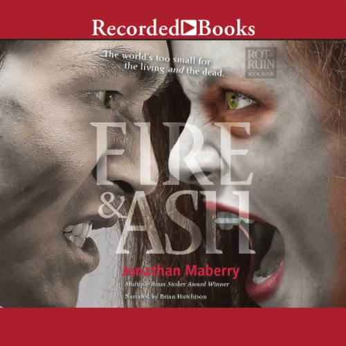 Fire & Ash audiobook cover art