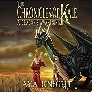 A Dragon's Awakening audiobook cover art