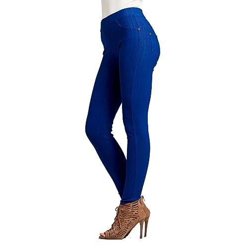 624770a63a5 Premium Jeggings - Denim Leggings - Full and Capri Length - Regular and  Plus Sizes