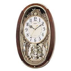 Rhythm Clocks Trumpet Boys Musical Motion Clock