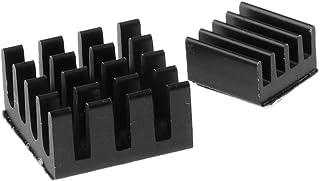 Homyl 2 Piece Aluminium Sink Heatsink Adhesive Cooling Kit for Raspberry Pi