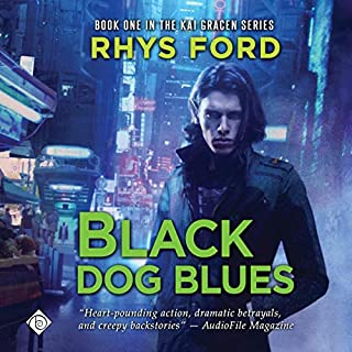 Black Dog Blues audiobook cover art