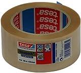 TESA 04100-00235-00 04100-00235-00-Cinta de Embalaje de PVC Rugoso Serie 4100-66m x 50mm Transparente c/etiq