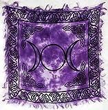 Triple Moon Altar Cloth 18' x 18'