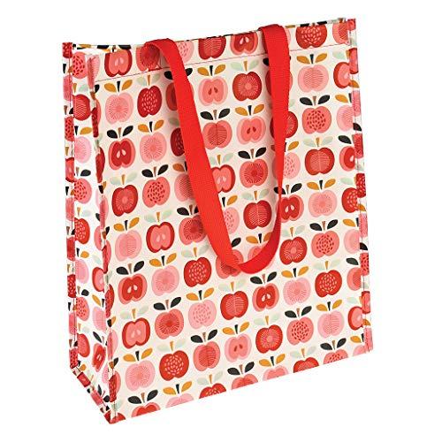 dotcomgiftshop 26577 Shopper Bag als Einkaufstasche Vintage Apple